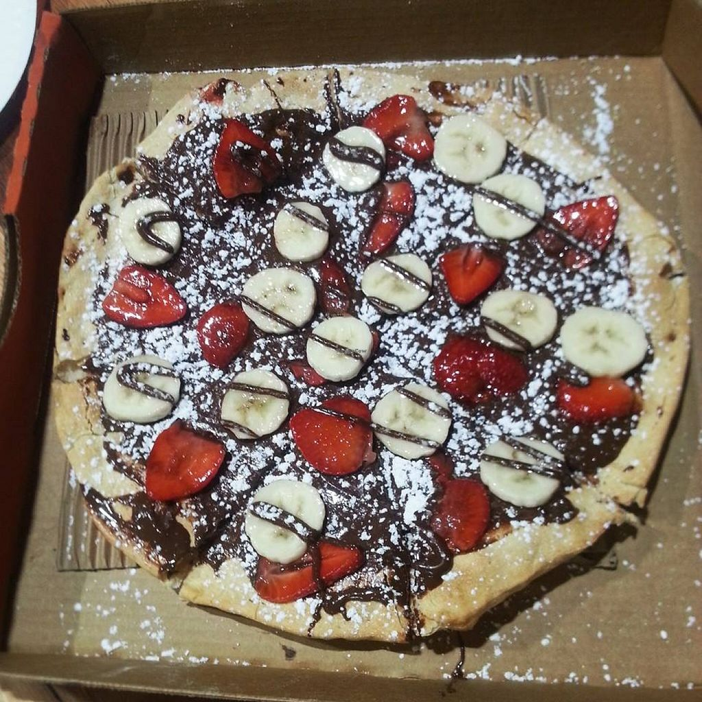 "Photo of ROUND  by <a href=""/members/profile/Carla.Rowe23"">Carla.Rowe23</a> <br/>Vegan Dessert Pizza <br/> May 10, 2016  - <a href='/contact/abuse/image/73557/148424'>Report</a>"