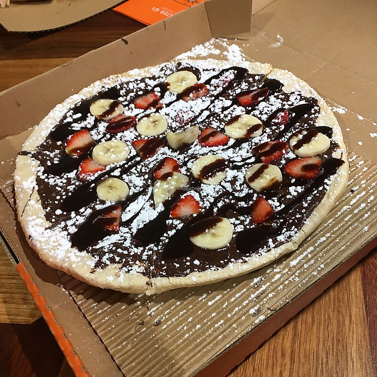 "Photo of ROUND  by <a href=""/members/profile/Jess3y"">Jess3y</a> <br/>vegan desert pizza with vegan Nutella  <br/> June 26, 2017  - <a href='/contact/abuse/image/73557/273604'>Report</a>"