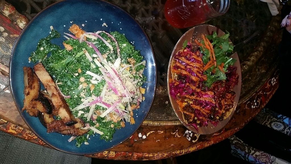 """Photo of EVE  by <a href=""""/members/profile/drjohnsaddress"""">drjohnsaddress</a> <br/>Winter Harvest Salad and Jackfruit Tacos <br/> February 23, 2018  - <a href='/contact/abuse/image/73584/362937'>Report</a>"""