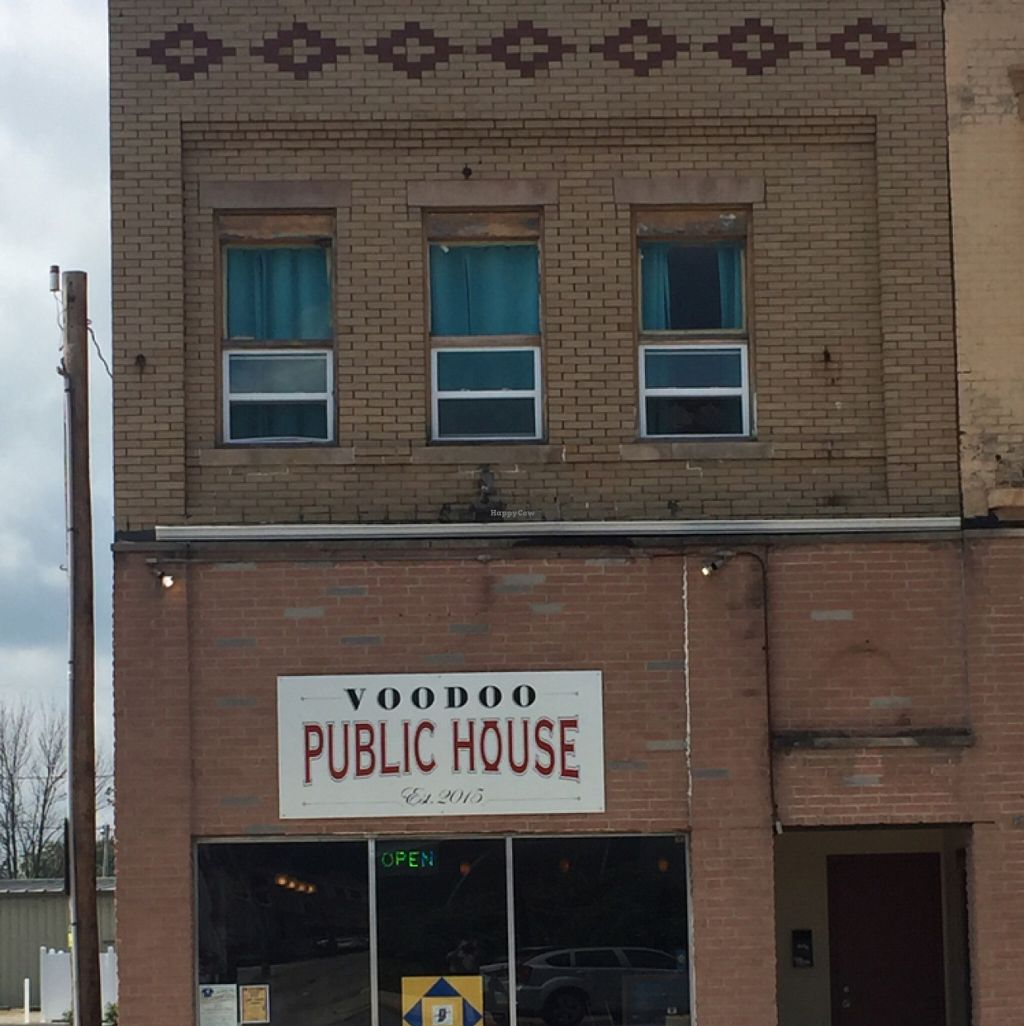 "Photo of Voodoo Public House  by <a href=""/members/profile/VeganSurgeon"">VeganSurgeon</a> <br/>Voodoo Public House Peri, Indiana <br/> July 30, 2016  - <a href='/contact/abuse/image/73589/163520'>Report</a>"