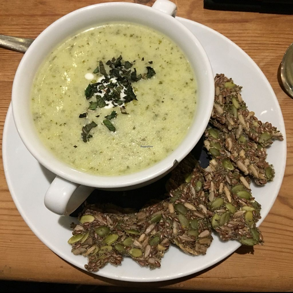 """Photo of CLOSED: Amala Conscious Food  by <a href=""""/members/profile/Danielwagner"""">Danielwagner</a> <br/>one of the daily Souper Soups of the day. always vegan, always gluten free  <br/> May 22, 2016  - <a href='/contact/abuse/image/73611/150196'>Report</a>"""