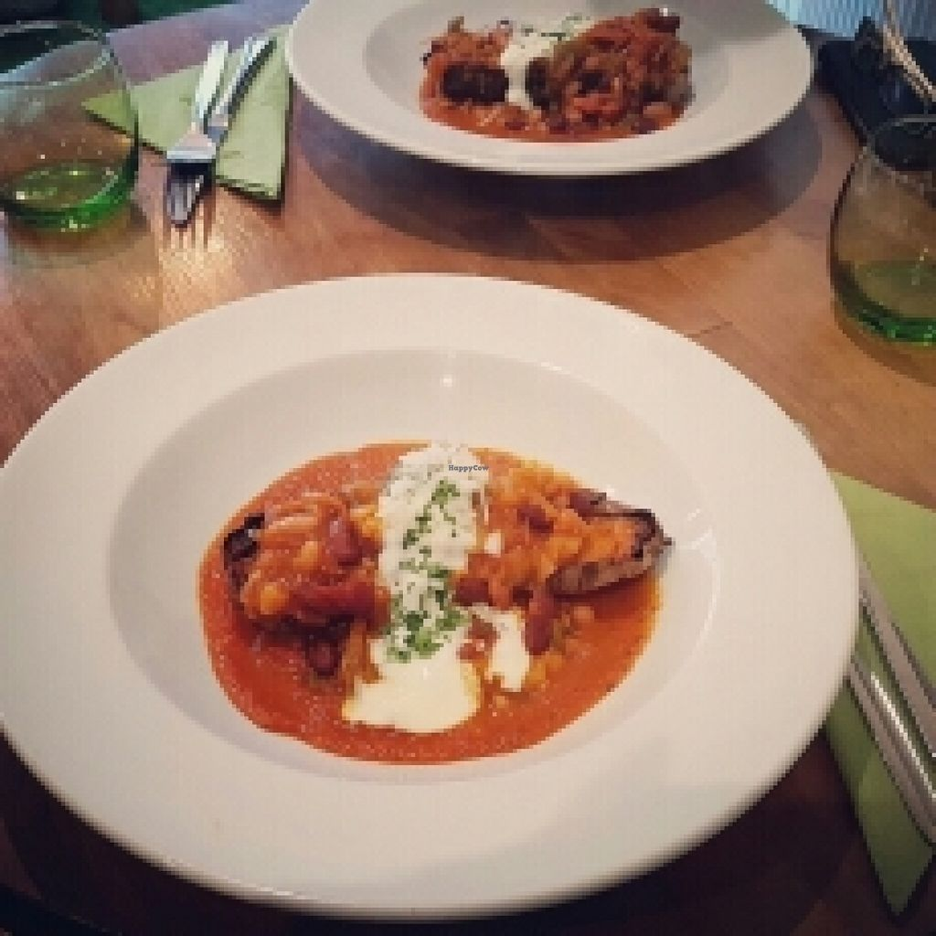 """Photo of CLOSED: Amala Conscious Food  by <a href=""""/members/profile/SabyAurora"""">SabyAurora</a> <br/>Jacket with chilli sin carne <br/> May 22, 2016  - <a href='/contact/abuse/image/73611/150233'>Report</a>"""