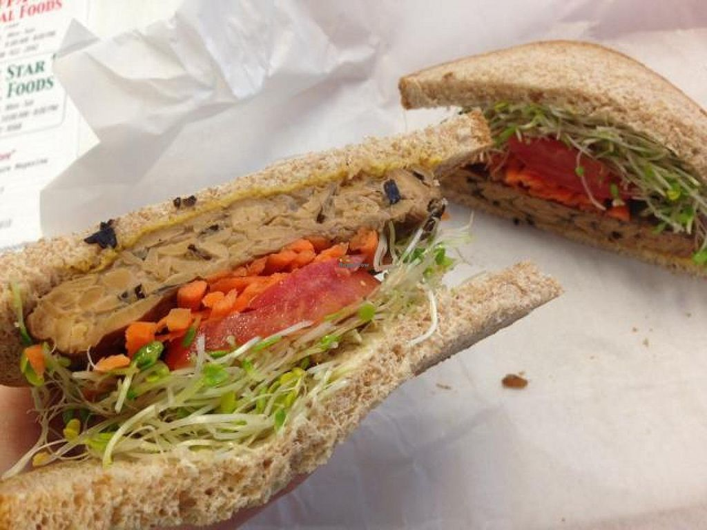 "Photo of Ruffage Natural Foods  by <a href=""/members/profile/oleiah"">oleiah</a> <br/>tempeh sandwich <br/> May 8, 2014  - <a href='/contact/abuse/image/7361/69608'>Report</a>"