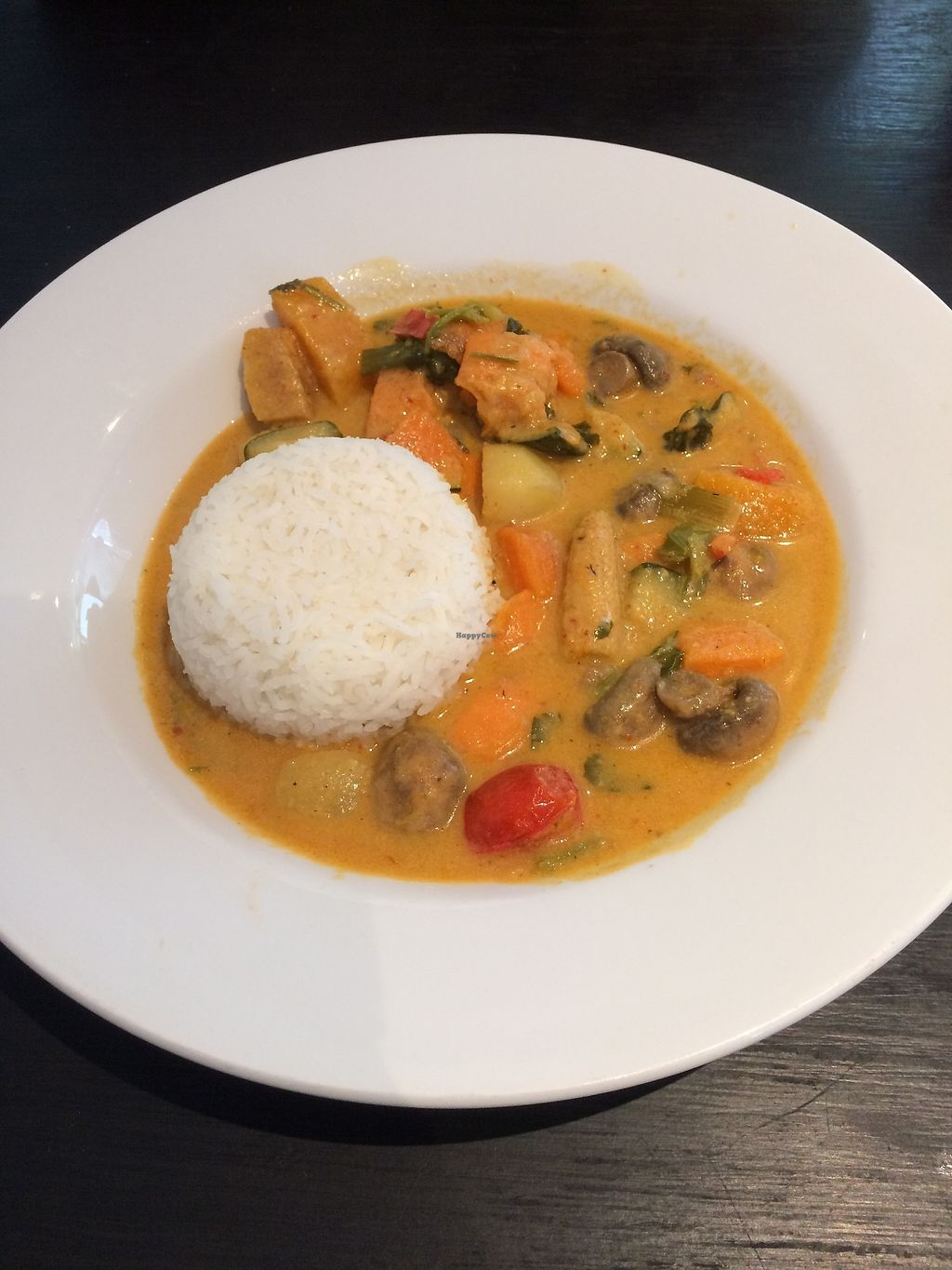 """Photo of Aingels Cafe Bistro  by <a href=""""/members/profile/xraysez"""">xraysez</a> <br/>Thai curry.  <br/> August 25, 2017  - <a href='/contact/abuse/image/73642/296939'>Report</a>"""