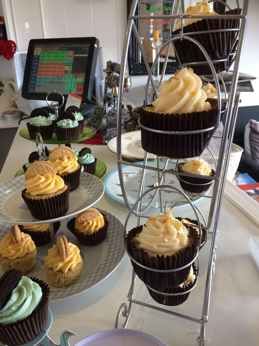 """Photo of Aingels Cafe Bistro  by <a href=""""/members/profile/xraysez"""">xraysez</a> <br/>Cupcakes.  <br/> August 25, 2017  - <a href='/contact/abuse/image/73642/296940'>Report</a>"""