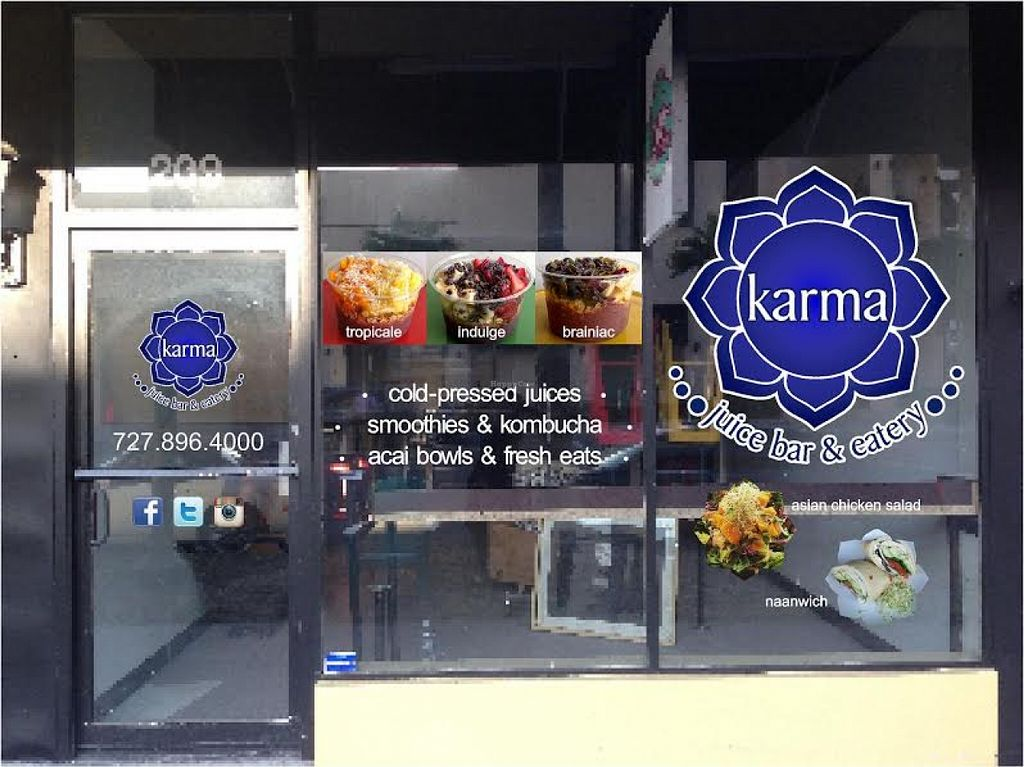 """Photo of Karma Juice Bar and Eatery  by <a href=""""/members/profile/community"""">community</a> <br/>Karma Juice Bar and Eatery <br/> May 13, 2016  - <a href='/contact/abuse/image/73657/148804'>Report</a>"""