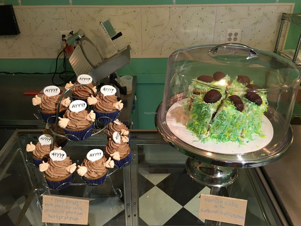 """Photo of Berben and Wolff's Vegan Delicatessen  by <a href=""""/members/profile/Randal%20Putnam"""">Randal Putnam</a> <br/>Desserts!  There were more!  All so good! <br/> May 13, 2016  - <a href='/contact/abuse/image/73663/148828'>Report</a>"""
