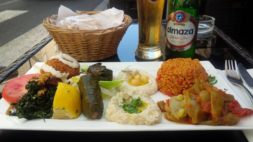 """Photo of CLOSED: Le Maroush  by <a href=""""/members/profile/Elembee"""">Elembee</a> <br/>The Vegan Six-Item Sampler that everyone is talking about <br/> September 28, 2016  - <a href='/contact/abuse/image/73665/178269'>Report</a>"""
