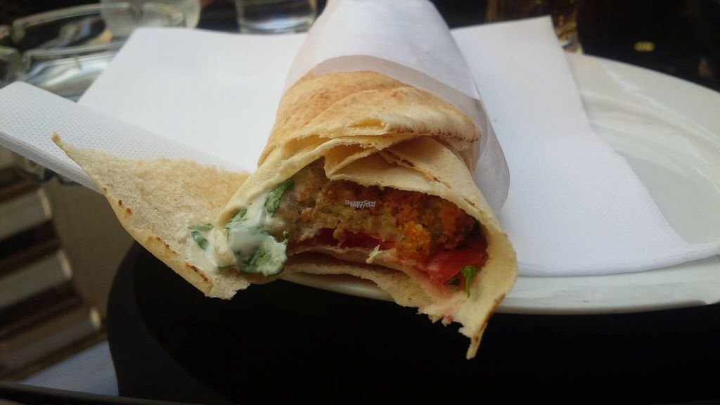 """Photo of CLOSED: Le Maroush  by <a href=""""/members/profile/Elembee"""">Elembee</a> <br/>Falafel Wrap Sandwich - Affordable and Delicious <br/> September 28, 2016  - <a href='/contact/abuse/image/73665/178271'>Report</a>"""