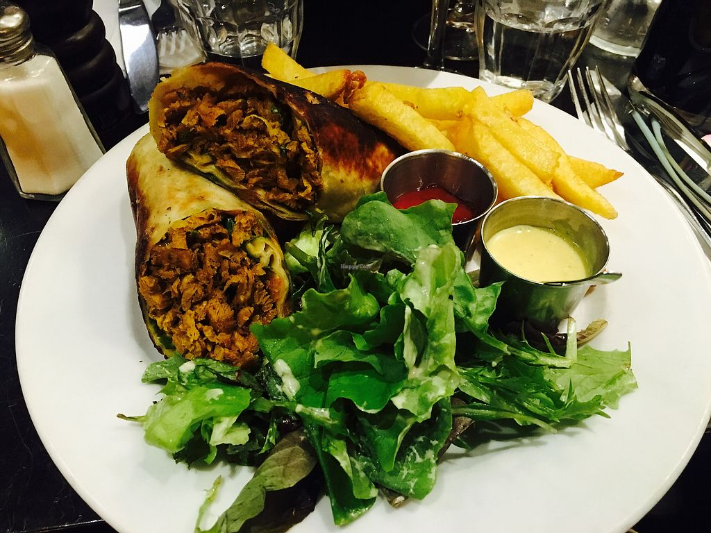 """Photo of Brasserie 2eme Art  by <a href=""""/members/profile/mwong"""">mwong</a> <br/>Vegan Kebab <br/> December 9, 2017  - <a href='/contact/abuse/image/73690/334056'>Report</a>"""