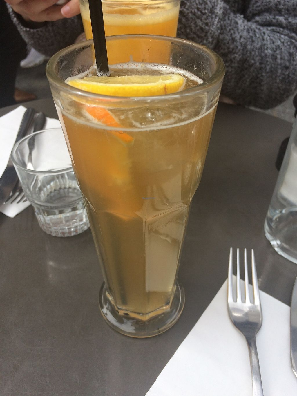 "Photo of Brasserie 2eme Art  by <a href=""/members/profile/sabrinajh"">sabrinajh</a> <br/>The iced-tea. House made.  <br/> April 13, 2018  - <a href='/contact/abuse/image/73690/385267'>Report</a>"
