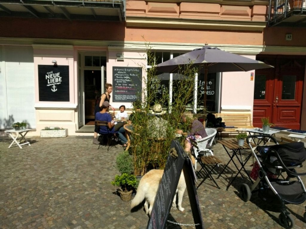 """Photo of Cafe Neue Liebe  by <a href=""""/members/profile/faincut"""">faincut</a> <br/>Façade  <br/> May 22, 2016  - <a href='/contact/abuse/image/73735/150178'>Report</a>"""