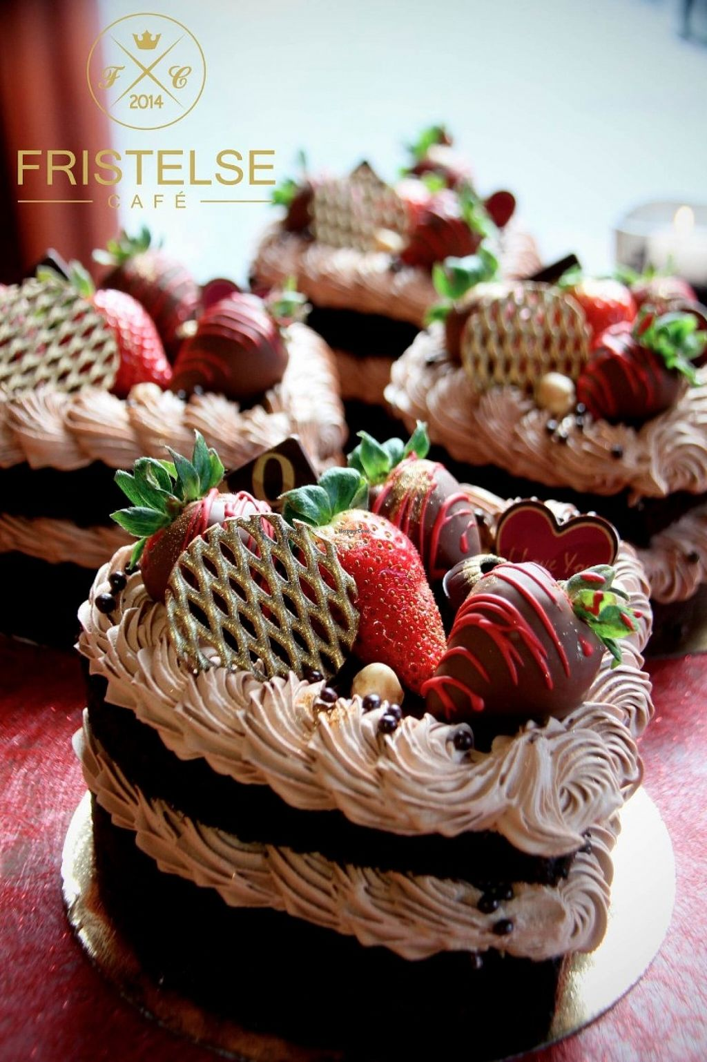 """Photo of CLOSED: Fristelse Cafe & Bistro  by <a href=""""/members/profile/domizyn97"""">domizyn97</a> <br/>Vegan Chocolate cake for Valentines day <br/> May 29, 2016  - <a href='/contact/abuse/image/73742/151300'>Report</a>"""