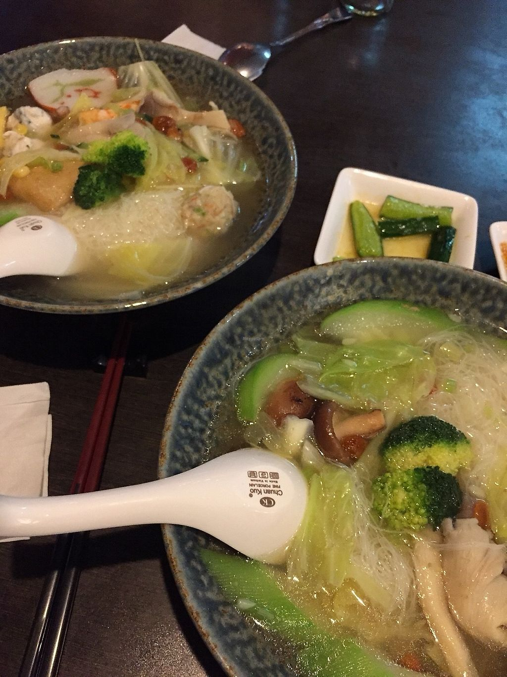 """Photo of Wei Feng Su Shi  by <a href=""""/members/profile/caitjoy"""">caitjoy</a> <br/>Soup noodles <br/> December 5, 2017  - <a href='/contact/abuse/image/73748/332472'>Report</a>"""