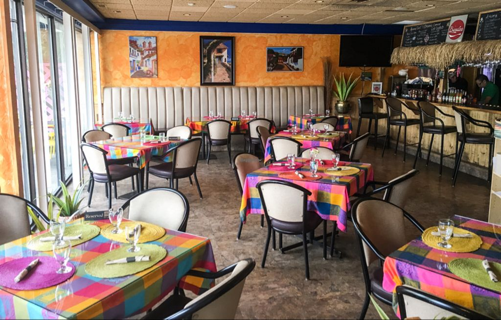 """Photo of Aroma Mexican Cuisine  by <a href=""""/members/profile/leont"""">leont</a> <br/>Colorfull interior <br/> July 7, 2016  - <a href='/contact/abuse/image/73764/158202'>Report</a>"""