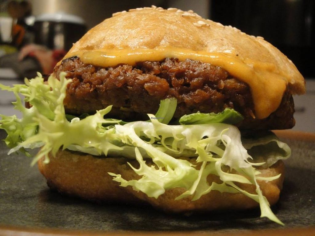 """Photo of Libelula  by <a href=""""/members/profile/community"""">community</a> <br/>vegan burger  <br/> May 17, 2016  - <a href='/contact/abuse/image/73768/149436'>Report</a>"""