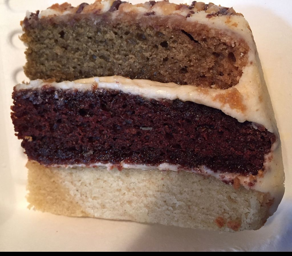 """Photo of The Green Room  by <a href=""""/members/profile/DonnaC"""">DonnaC</a> <br/>peanut butter, vanilla, coffee & chocolate cake <br/> April 22, 2017  - <a href='/contact/abuse/image/73773/251119'>Report</a>"""