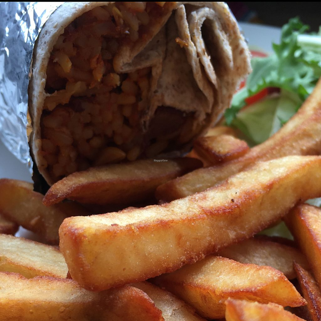 """Photo of The Green Room  by <a href=""""/members/profile/hack_man"""">hack_man</a> <br/>Chilli Burrito & chips  <br/> May 29, 2017  - <a href='/contact/abuse/image/73773/263972'>Report</a>"""