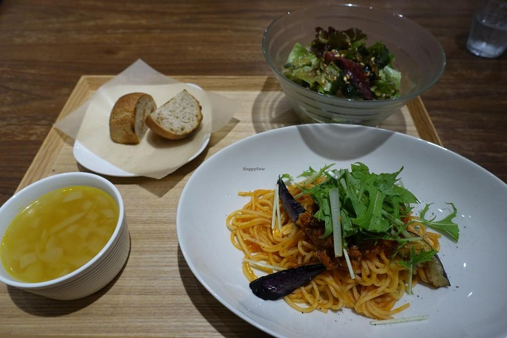 "Photo of Evah Dining Macrobiotic - Hakata Riverain Mall  by <a href=""/members/profile/Chelmi"">Chelmi</a> <br/>Set lunch <br/> May 18, 2016  - <a href='/contact/abuse/image/73777/149716'>Report</a>"