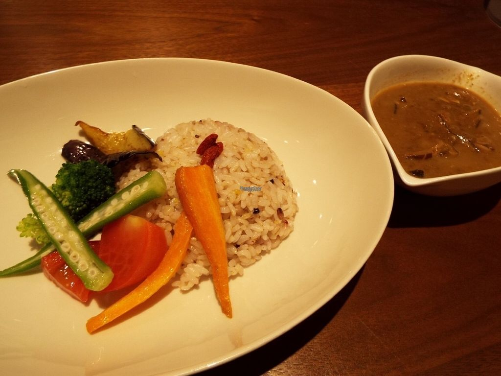 "Photo of Evah Dining Macrobiotic - Hakata Riverain Mall  by <a href=""/members/profile/SaayaM"">SaayaM</a> <br/>Sri Lankan Curry <br/> August 22, 2016  - <a href='/contact/abuse/image/73777/170648'>Report</a>"