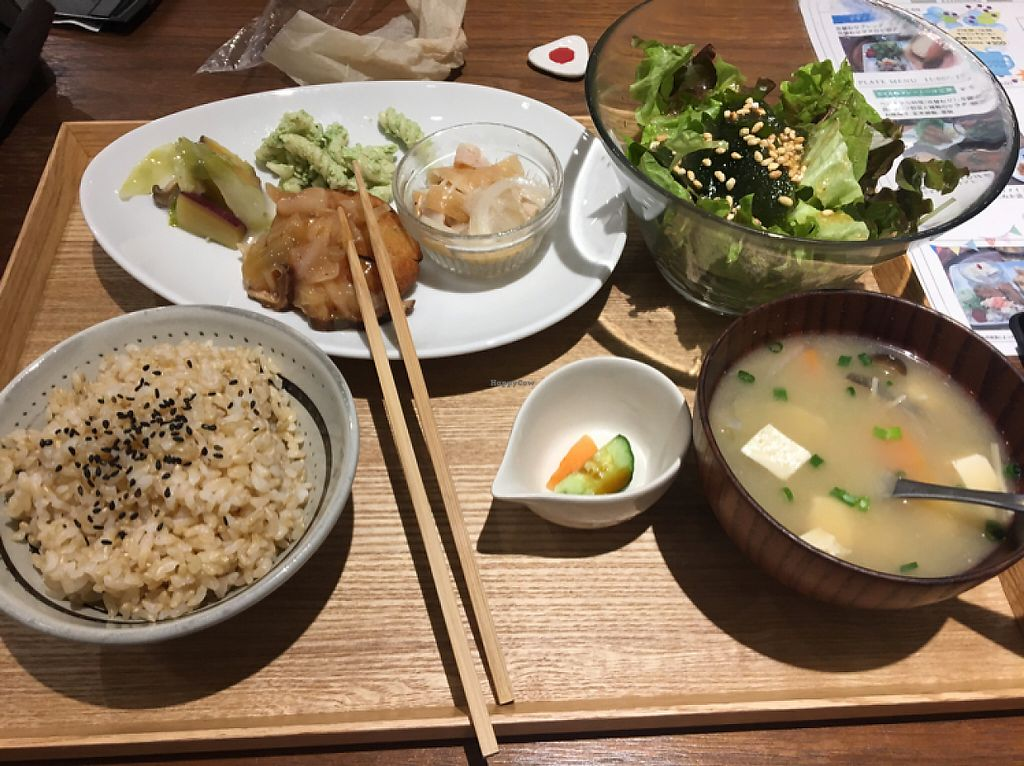 "Photo of Evah Dining Macrobiotic - Hakata Riverain Mall  by <a href=""/members/profile/Jalan333"">Jalan333</a> <br/>delicious  <br/> May 25, 2017  - <a href='/contact/abuse/image/73777/262219'>Report</a>"