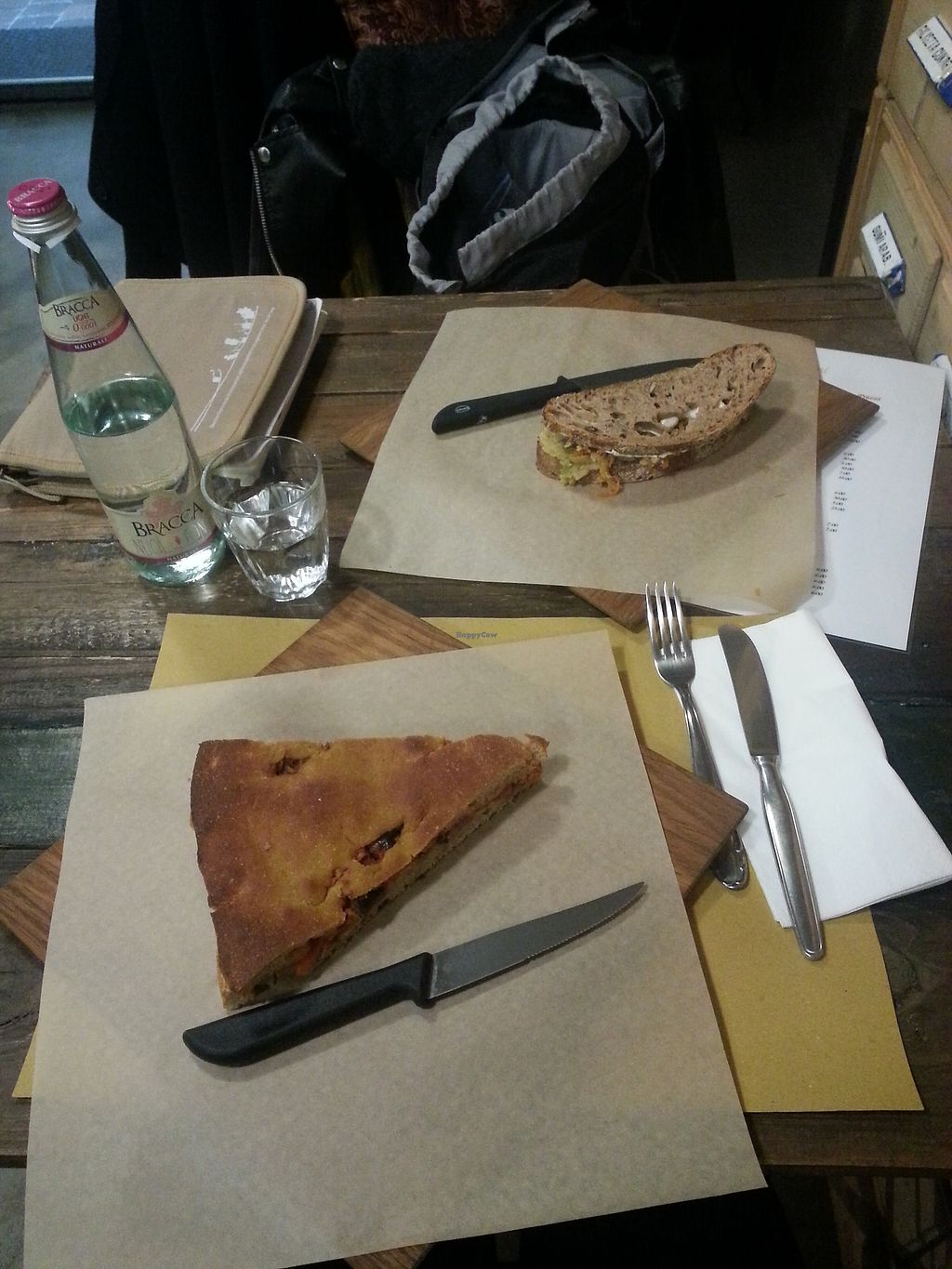 """Photo of Le Golose Imperfezioni  by <a href=""""/members/profile/ManueEmmaLeTllc"""">ManueEmmaLeTllc</a> <br/>Bread like a pizza and avocado sandwich <br/> August 9, 2017  - <a href='/contact/abuse/image/73779/290851'>Report</a>"""
