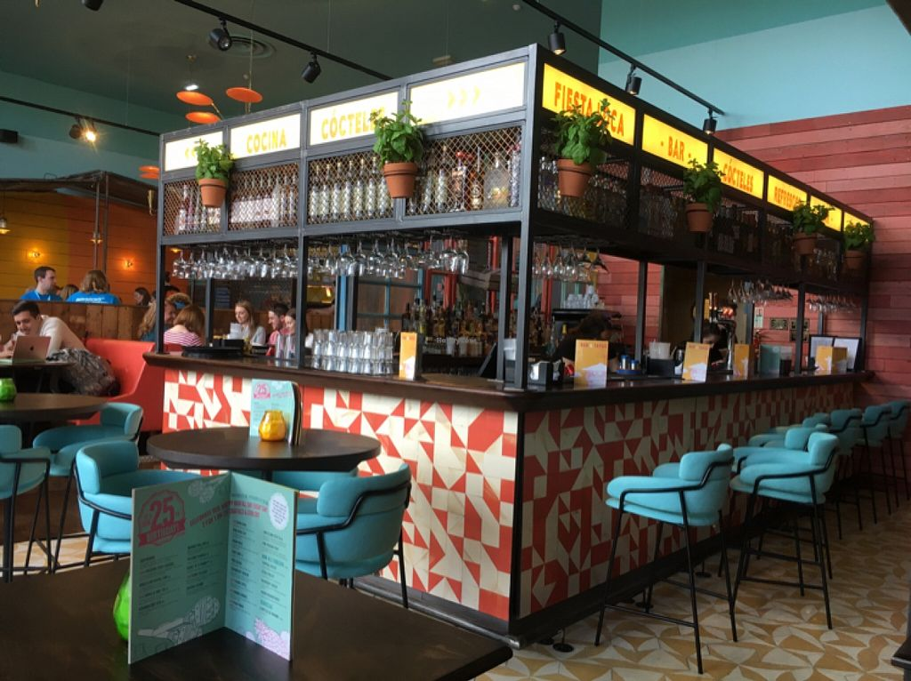 """Photo of Las Iguanas - Quayside  by <a href=""""/members/profile/hack_man"""">hack_man</a> <br/>The full bar area <br/> May 21, 2016  - <a href='/contact/abuse/image/73789/150014'>Report</a>"""