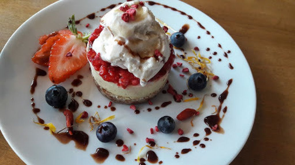 """Photo of Earthlings  by <a href=""""/members/profile/Veganolive1"""">Veganolive1</a> <br/>Mango cheesecake <br/> January 15, 2017  - <a href='/contact/abuse/image/73798/212223'>Report</a>"""