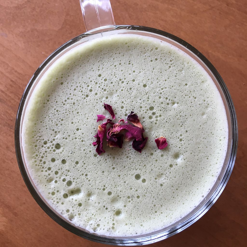 Photo of Earthlings  by HollyGraceWard <br/>Matcha green tea latte <br/> April 4, 2017  - <a href='/contact/abuse/image/73798/244684'>Report</a>