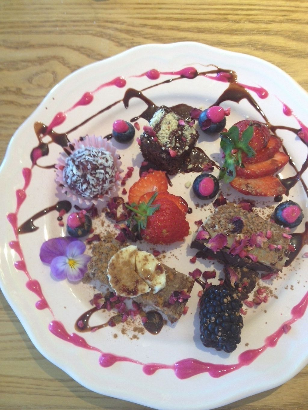 """Photo of Earthlings  by <a href=""""/members/profile/CoralS"""">CoralS</a> <br/>Dessert sampler <br/> June 17, 2017  - <a href='/contact/abuse/image/73798/270096'>Report</a>"""