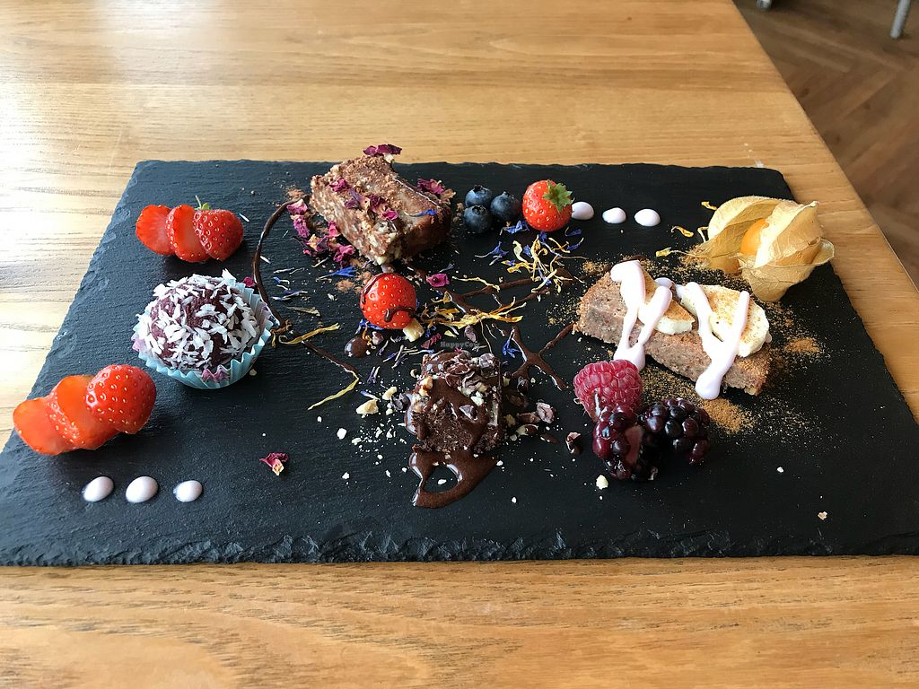"""Photo of Earthlings  by <a href=""""/members/profile/VickiWanSlattery"""">VickiWanSlattery</a> <br/>Mini dessert sampler plate  <br/> November 8, 2017  - <a href='/contact/abuse/image/73798/323342'>Report</a>"""