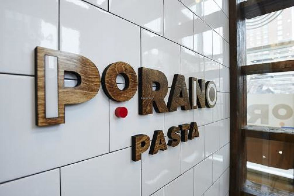 "Photo of Porano Pasta  by <a href=""/members/profile/GirlNerdified"">GirlNerdified</a> <br/>The logo of the restaurant near the front of the store <br/> July 4, 2016  - <a href='/contact/abuse/image/73800/157724'>Report</a>"
