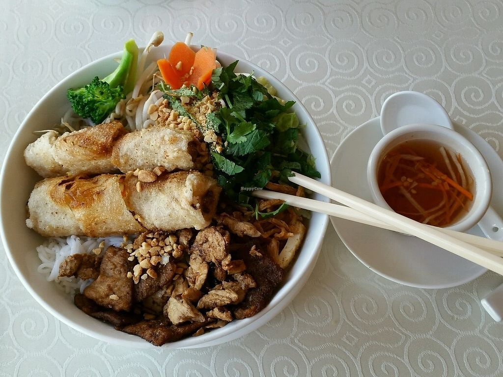 """Photo of Veggie Vietnam Restaurant  by <a href=""""/members/profile/Elliek"""">Elliek</a> <br/>Combo meal <br/> August 30, 2017  - <a href='/contact/abuse/image/73824/299074'>Report</a>"""