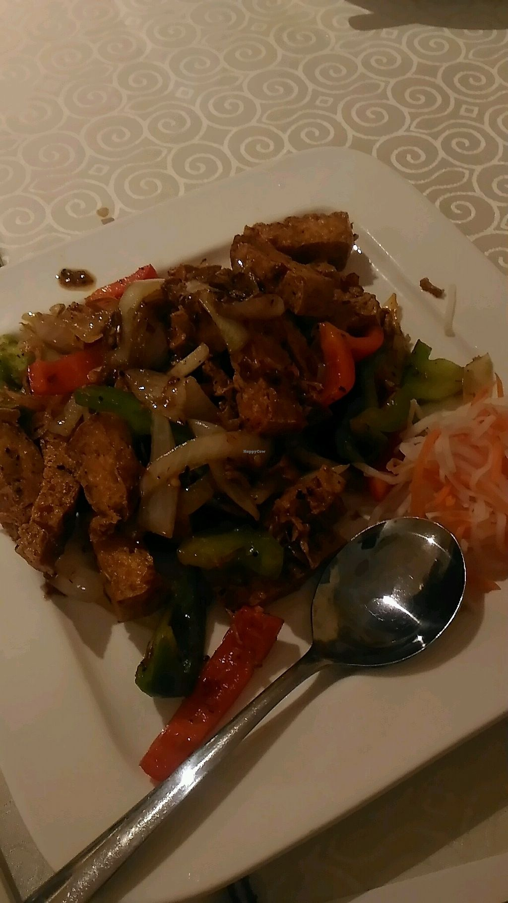 """Photo of Veggie Vietnam Restaurant  by <a href=""""/members/profile/QuothTheRaven"""">QuothTheRaven</a> <br/>crispy tofu <br/> November 2, 2017  - <a href='/contact/abuse/image/73824/321010'>Report</a>"""