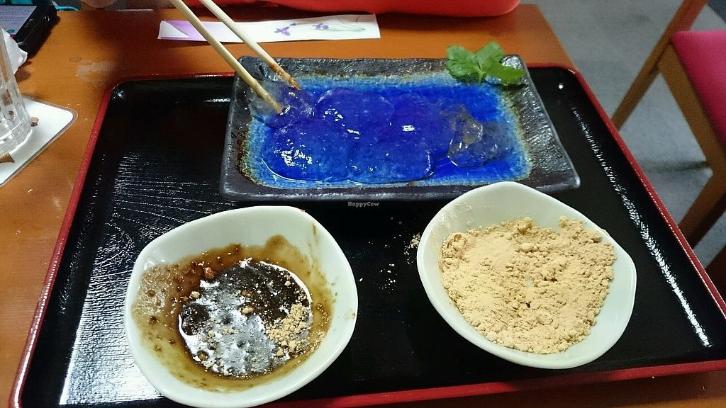 "Photo of Arashiyama-kan  by <a href=""/members/profile/daoriginalhero%40gmail."">daoriginalhero@gmail.</a> <br/>The dessert is a must have.  delicious,  and much hilarity trying to eat it.  <br/> February 12, 2018  - <a href='/contact/abuse/image/73845/358291'>Report</a>"
