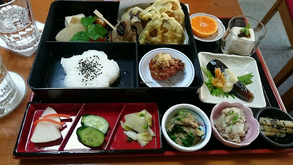 "Photo of Arashiyama-kan  by <a href=""/members/profile/daoriginalhero%40gmail."">daoriginalhero@gmail.</a> <br/>Delicious set lunch  <br/> February 12, 2018  - <a href='/contact/abuse/image/73845/358292'>Report</a>"