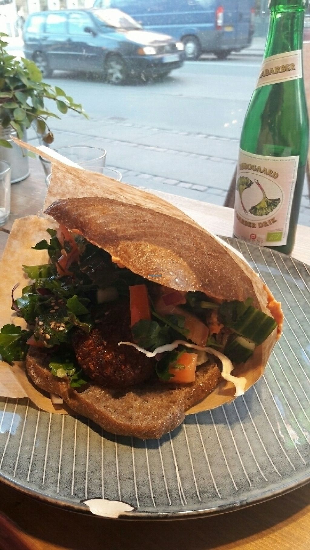 """Photo of Falafel Factory  by <a href=""""/members/profile/piffelina"""">piffelina</a> <br/>Great falafel on dark bread pictured <br/> March 25, 2017  - <a href='/contact/abuse/image/73853/240674'>Report</a>"""