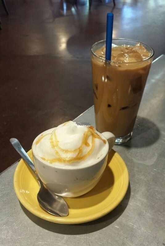 """Photo of Summer Thymes Deli and Bakery  by <a href=""""/members/profile/vixabel"""">vixabel</a> <br/>soy cappucino & almond milk latte! <br/> October 19, 2016  - <a href='/contact/abuse/image/73879/183064'>Report</a>"""