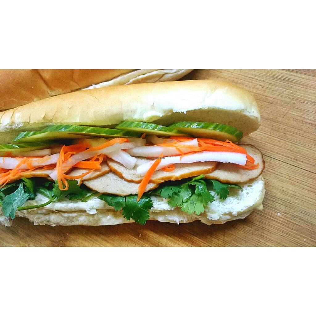 "Photo of CLOSED: Awesome Organic Coffee  by <a href=""/members/profile/jackie83826"">jackie83826</a> <br/>Vegetarian Vietnam Banh Mi with smoked soy protein slices  <br/> May 18, 2016  - <a href='/contact/abuse/image/73888/149748'>Report</a>"