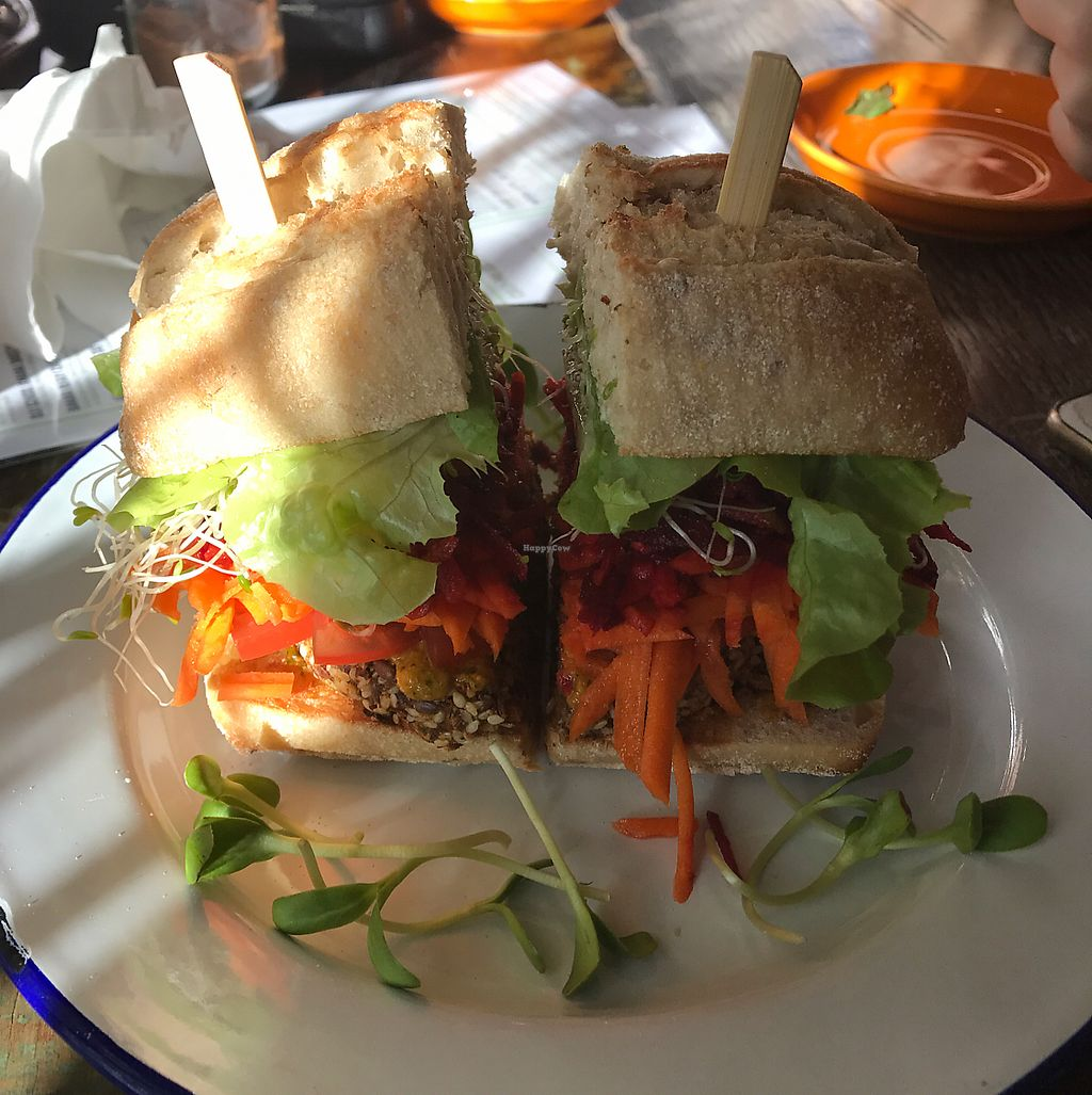 """Photo of Rawthentic Organic Unbakery & Farmacy  by <a href=""""/members/profile/stricko"""">stricko</a> <br/>Sesame Burger <br/> June 23, 2017  - <a href='/contact/abuse/image/73897/272481'>Report</a>"""
