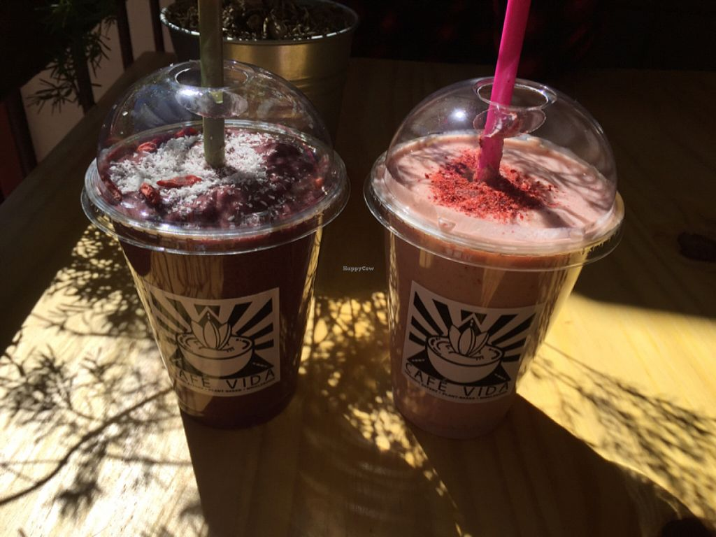 """Photo of Cafe Vida  by <a href=""""/members/profile/MichelleBoonstra"""">MichelleBoonstra</a> <br/>delicious drinks <br/> June 5, 2016  - <a href='/contact/abuse/image/73930/152446'>Report</a>"""