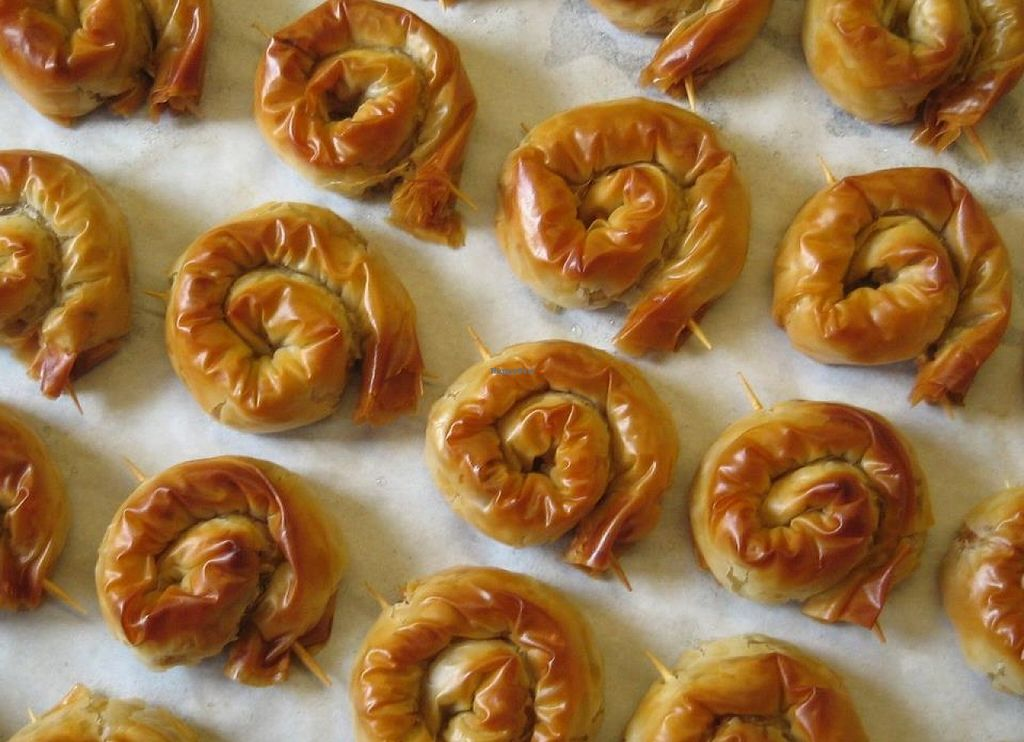 """Photo of Olivity  by <a href=""""/members/profile/Olivity"""">Olivity</a> <br/>Mini filo rolls with aubergine-sundried tomato-bulgur (suitable for vegans) <br/> May 19, 2016  - <a href='/contact/abuse/image/73954/149849'>Report</a>"""