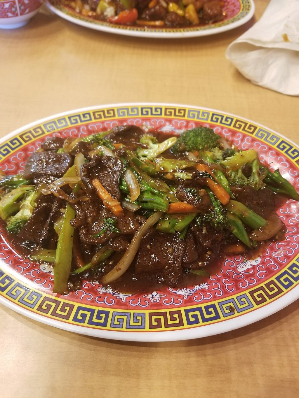 """Photo of Bok Choy  by <a href=""""/members/profile/Lamaha"""">Lamaha</a> <br/>Beef with Broccoli (Vegan!) <br/> October 1, 2017  - <a href='/contact/abuse/image/73958/310661'>Report</a>"""