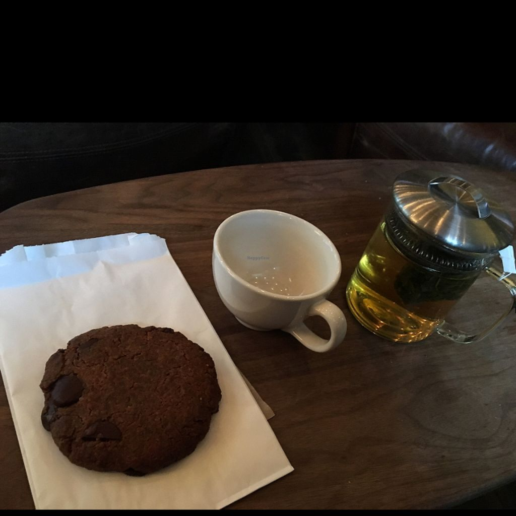"""Photo of Beatrix - Streeterville  by <a href=""""/members/profile/JJones315"""">JJones315</a> <br/>Vegan GF cookie & tea <br/> May 2, 2017  - <a href='/contact/abuse/image/74028/255063'>Report</a>"""