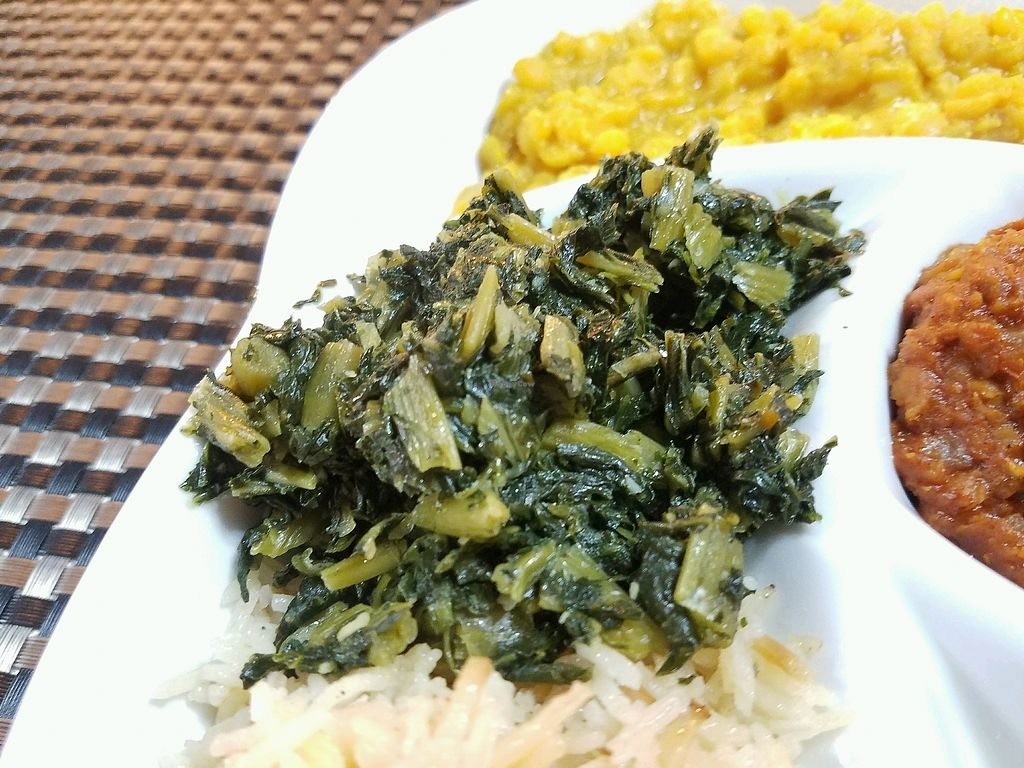 """Photo of Habesha Ethiopian Restaurant  by <a href=""""/members/profile/jad37379"""">jad37379</a> <br/>greens <br/> March 2, 2018  - <a href='/contact/abuse/image/74037/365772'>Report</a>"""