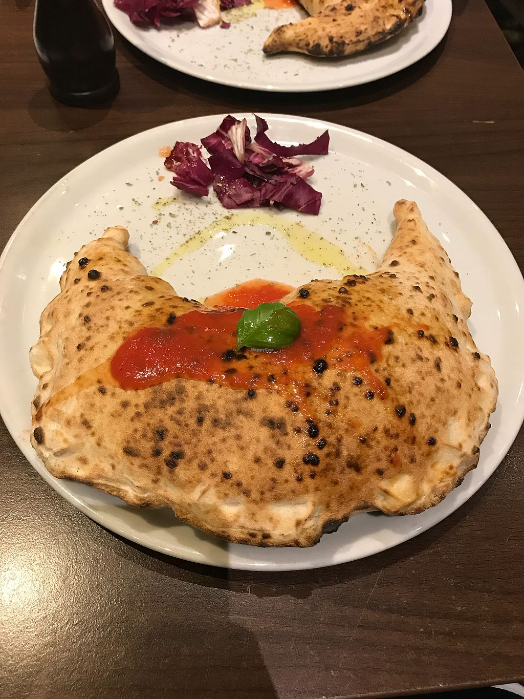 """Photo of La Stella Nera  by <a href=""""/members/profile/JijiVanMeow"""">JijiVanMeow</a> <br/>Calzone time! <br/> February 25, 2018  - <a href='/contact/abuse/image/74041/363507'>Report</a>"""