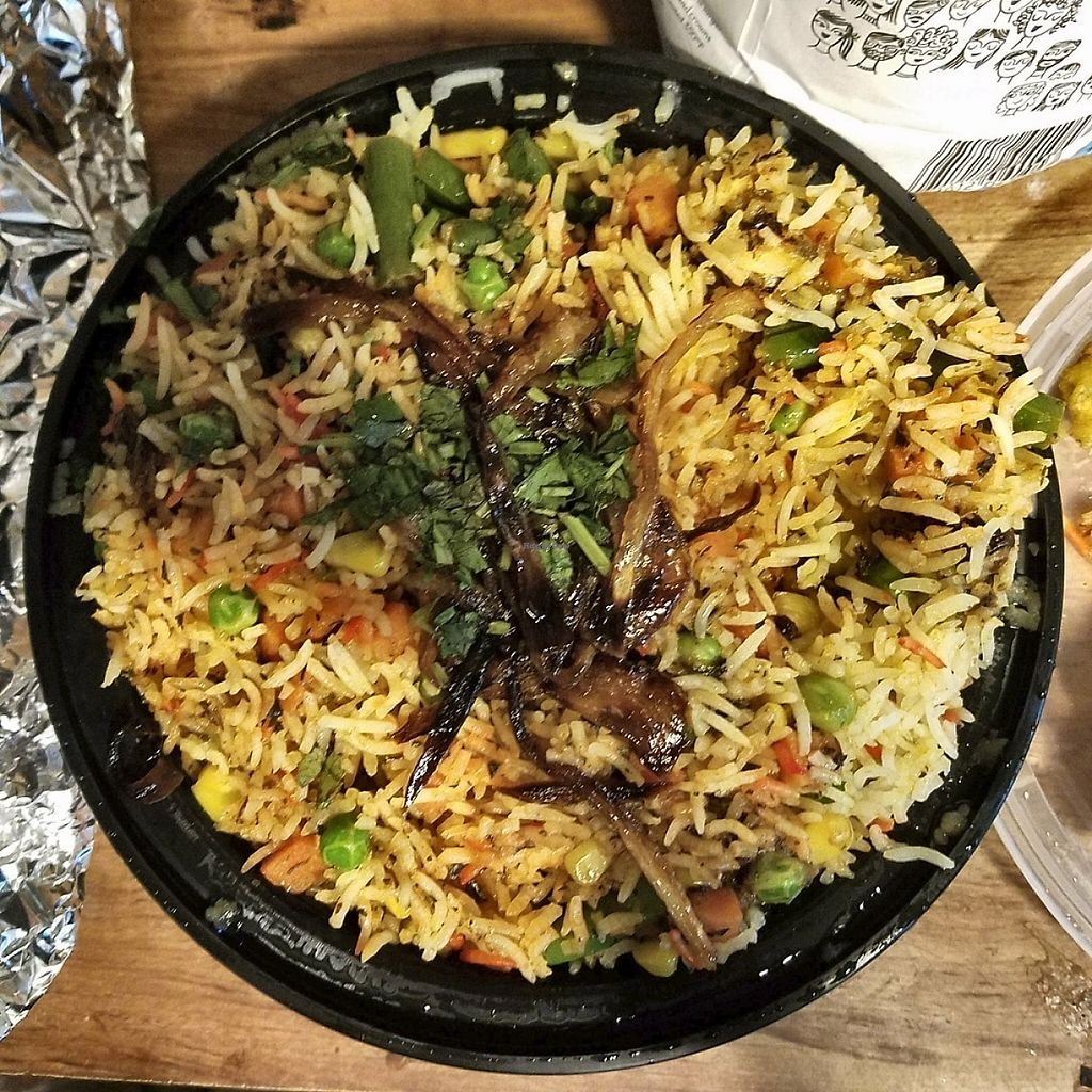 "Photo of Bollywood Masala  by <a href=""/members/profile/Sioranth"">Sioranth</a> <br/>Vegetable Biryani (take-out) <br/> May 12, 2017  - <a href='/contact/abuse/image/74043/258268'>Report</a>"