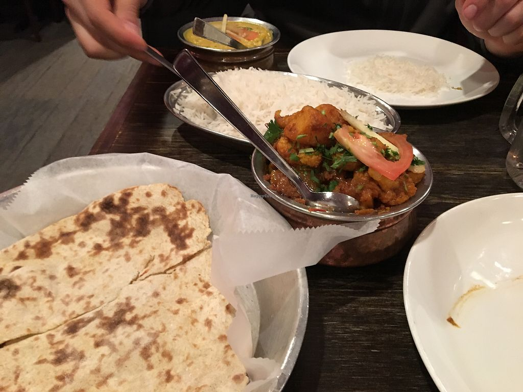 "Photo of Bollywood Masala  by <a href=""/members/profile/RosieMcGill"">RosieMcGill</a> <br/>Food was amazing! Hidden gem that we are so happy to find ☺️ <br/> December 8, 2017  - <a href='/contact/abuse/image/74043/333390'>Report</a>"