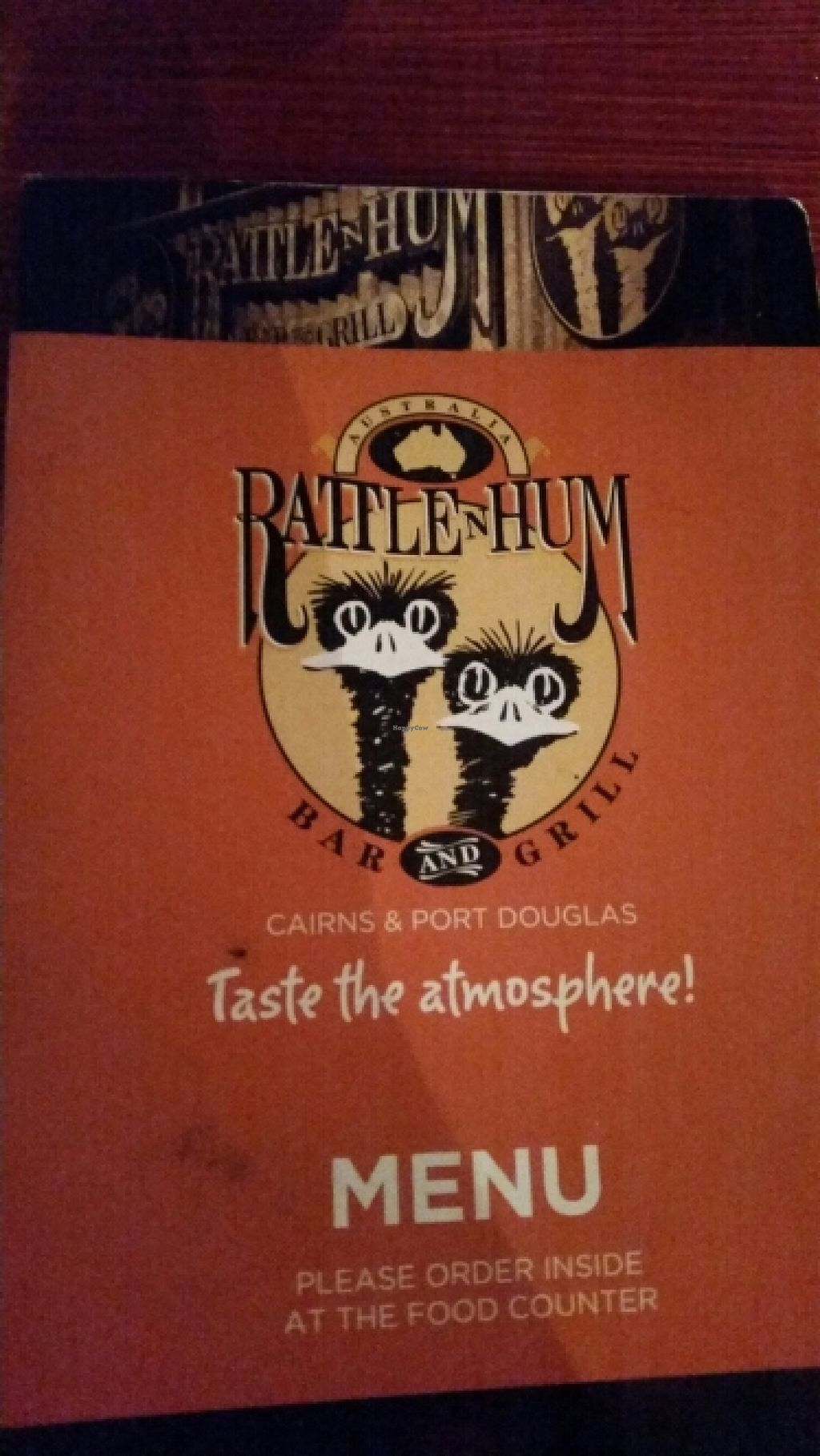 "Photo of Rattle N Hum Bar and Grill  by <a href=""/members/profile/ErinLeaP"">ErinLeaP</a> <br/>menu <br/> May 23, 2016  - <a href='/contact/abuse/image/74089/150451'>Report</a>"