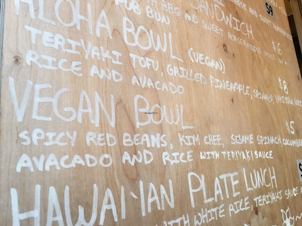 "Photo of Namu Food Cart - Tidbit Food Pod  by <a href=""/members/profile/Arthousebill"">Arthousebill</a> <br/>Menu <br/> June 22, 2016  - <a href='/contact/abuse/image/74096/155557'>Report</a>"